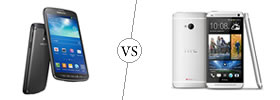 Samsung Galaxy S4 Active vs HTC One