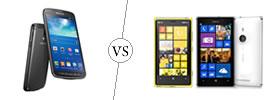 Samsung Galaxy S4 Active vs Nokia Lumia 925