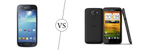 Samsung Galaxy S4 Mini vs HTC One X