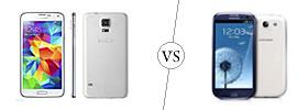 Samsung Galaxy S5 vs S3