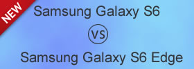 Samsung Galaxy S6 vs S6 Edge