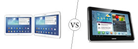 Samsung Galaxy Tab 3 10.1 vs Samsung Galaxy Tab 2 10.1