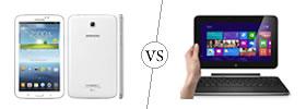 Samsung Galaxy Tab 3 7.0 vs Dell XPS 10 Tablet