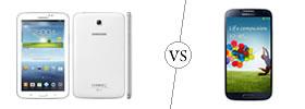 Samsung Galaxy Tab 3 7.0 vs Samsung Galaxy S4