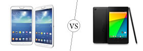 Samsung Galaxy Tab 3 8.0 vs Google Nexus 7