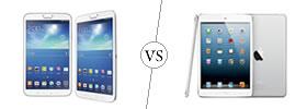 Samsung Galaxy Tab 3 8.0 vs iPad