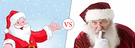 Santa Claus vs Father Christmas