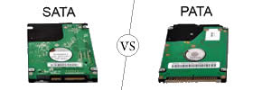 Difference between SATA and PATA