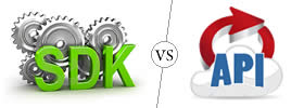 Difference between SDK and API