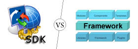 Difference between SDK and Framework