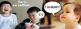 Selfish vs Mean
