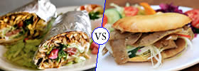 Difference between Shawarma and Doner