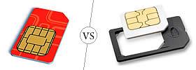 SIM vs Micro SIM