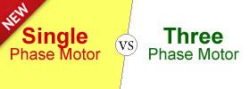 Single Phase Motor vs Three Phase Motor