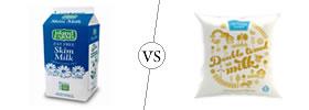 Skimmed Milk vs Double Toned Milk
