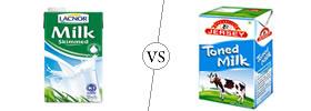 Skimmed Milk vs Toned Milk