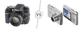 SLR vs Digital Camera