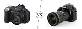 SLR vs DSLR Camera