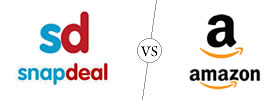 Snapdeal vs Amazon