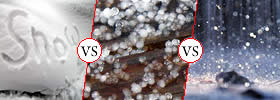 Snow vs Sleet vs Freezing Rain