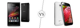 Sony Xperia E vs Micromax A 116