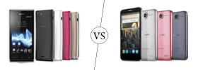 Sony Xperia J vs Alcatel One Touch Idol