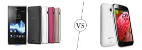 Sony Xperia J vs Micromax A116 Canvas HD