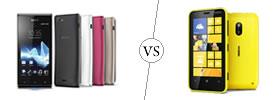 Sony Xperia J vs Nokia Lumia 620