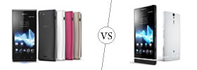 Sony Xperia J vs Sony Xperia S