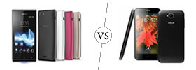 Sony Xperia J vs Xolo Q800