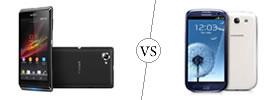 Sony Xperia L vs Samsung Galaxy S3