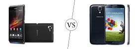 Sony Xperia L vs Samsung Galaxy S4