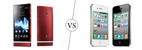Sony Xperia P vs iPhone 4S