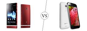 Sony Xperia P vs Micromax A116 Canvas HD