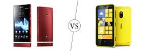Sony Xperia P vs Nokia Lumia 620