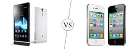 Sony Xperia S vs Apple iPhone 4S