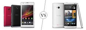 Sony Xperia SP vs HTC One