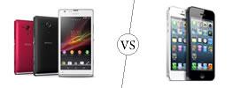 Sony Xperia SP vs iPhone 5