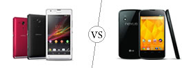 Sony Xperia SP vs Nexus 4