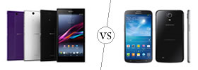 Sony Xperia Z Ultra vs Samsung Galaxy Mega 6.3