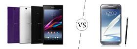 Sony Xperia Z Ultra vs Samsung Galaxy Note 2