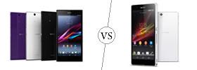 Sony Xperia Z Ultra vs Sony Xperia Z