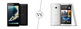 Sony Xperia ZR vs HTC One