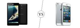 Sony Xperia ZR vs iPhone 5