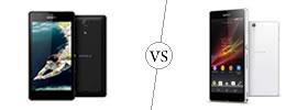 Sony Xperia ZR vs Sony Xperia Z