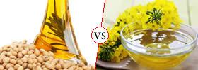 Soybean Oil vs Canola Oil