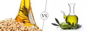 Soybean Oil vs Olive Oil