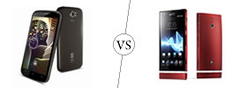 Spice Stellar Pinnacle Pro vs Sony Xperia P
