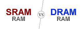 SRAM vs DRAM