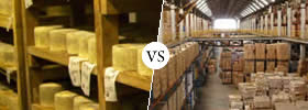 Difference between Storage and Warehousing